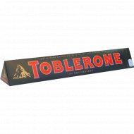 Шоколад «Toblerone» тёмный, с медово-миндальной нугой, 10%, 100 г.