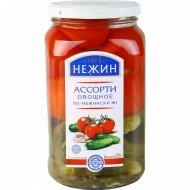 Ассорти овощное «Нежин» по-нежински №1, 920 г.