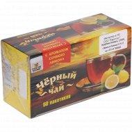 Чай черный(байховый,лимон)50*1.5г