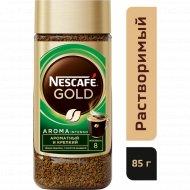 Кофе растворимый «Nescafe Gold Aroma» с добавлением молотого, 85г