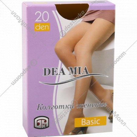 Колготки женские «Dea mia» basic, 20 den, bronz.