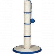 Когтеточка «Trixie» в виде столбика с мячиком, 62 см.
