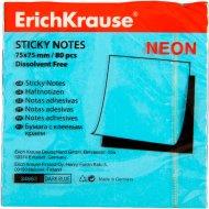 Бумага «Erich Krause» с клеевым краем, 75х75 мм.