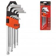 Набор ключей шестигранные «Pro Startul» Pro-4191, 1,5-10 мм. 9 шт.