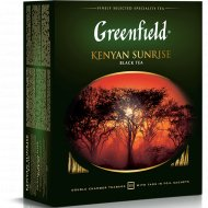 Чай черный «Greenfield» Kenyan Sunrise, 100 шт, 200 г.